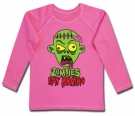Camiseta ZOMBIES EAT BRAINS CHL