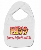 Babero KISS PAINT (ROCK & ROLL OVER) W.