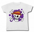 Camiseta JOLLY ROGER PAINT WC