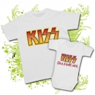 Camiseta PAPA KISS PAINT + BODY BEBE KISS PAINT WC