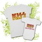 Camiseta MAMA KISS PAINT + BODY BEBE KISS PAINT WC