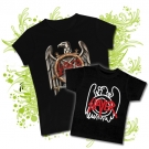 Camiseta MAMA SLAYER PAINT + CAMISETA NIÑOS SLAYER PAINT BC