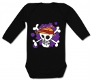 Body bebé JOLLY ROGER PAINT BL