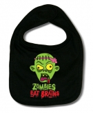 Babero ZOMBIES EAT BRAINS B.