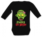 Body bebé ZOMBIES EAT BRAINS BL