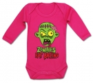 Body bebé ZOMBIES EAT BRAINS FL