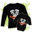 Camiseta MAMA BORN TO RIDE + Body bebé BORN TO RIDE BL