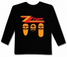 Camiseta ZZ TOP CARAS BL