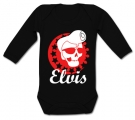 Body bebé ELVIS SKULL BL