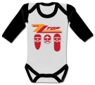 Body bebé ZZ TOP (Caras) WWL