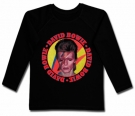 Camiseta DAVID BOWIE ROLL & ROLL BL