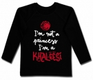 Camiseta I'M NOT A PRINCESS I'M A KHALEESI (Paint) BL