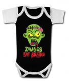 Body bebé ZOMBIES EAT BRAINS BBC
