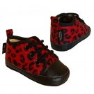 Zapatitos bebé LEOPARDO (Red)