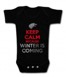 Body Keep Calm Because Winter is Coming BC