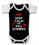 Body bebé KEEP CALM AND KILL ZOMBIES BBC