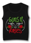 Camiseta sin mangas GUNS AND ROSES PINCELES TB.