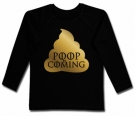 Camiseta POOP IS COMING BL