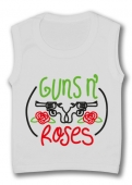 Camiseta sin mangas GUNS AND ROSES PINCELES TW