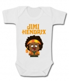 Body bebé JIMI HENDRIX (personaje South Park) WC