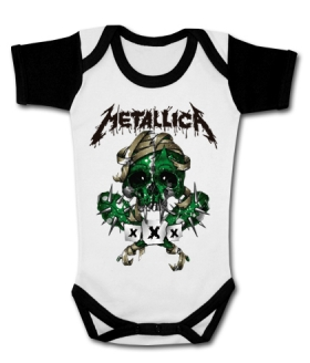 Body bebé METALLICA SCARY WWMC