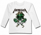 Camiseta METALLICA GREEN SKULL WL