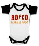 Body bebé AB/CD LEARN & GROW (Aprender & Leer) WWC