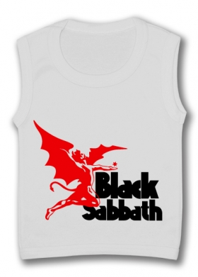 Camiseta sin mangas BLACK SABBATH ROCK & ROLL TW