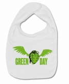 Babero GREEN DAY HEART W.