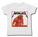 Camiseta METALLICA JUMP IN THE FIRE WC