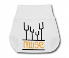 Ranita cubre pañales MUSE PAINT W.