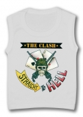 Camisetas sin mangas THE CLASH (STRAIGHT TO HELL) TW