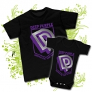 Camiseta PAPA DEEP PURPLE + Body DEEP PURPLE BC