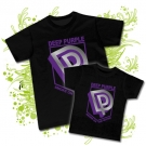 Camiseta PAPA DEEP PURPLE + Camiseta NIÑOS DEEP PURPLE BC
