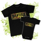 Camiseta PAPA PANTERA (Cowboys From Hell) + Body (Cowboys From Hell) BC