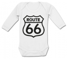 Body bebé ROUTE 66 WL