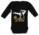 Body bebé MICHAEL JACKSON GOLD BL