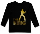 Camiseta ELVIS THE KING BL