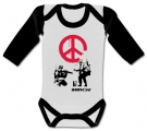 Body bebé BANSKY PEACE WWL