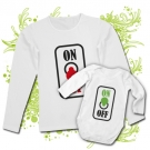 Camiseta MAMA ON OFF + Body ON OFF WL