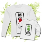 Camiseta MAMA ON OFF + Camiseta ON OFF WL