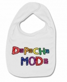 Babero DEPECHE MODE PAINT W.