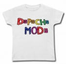 Camiseta DEPECHE MODE PAINT WC