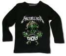 Camiseta METALLICA GREEN SKULL BL