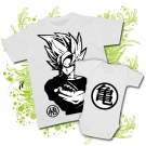 Camiseta PAPA GOKU + Body GOKU WC