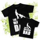 Camiseta PAPA walking DAD + Camiseta walking DAD BC