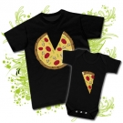 Camiseta PAPA PIZZA+ Body PIZZA BC