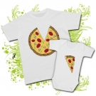 Camiseta PAPA PIZZA+ Body PORCIÓN PIZZA WC