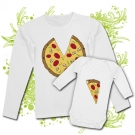 Camiseta MAMA PIZZA+ Body PIZZA WL