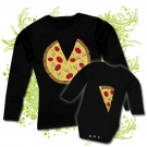 Camiseta MAMA PIZZA+ Body PIZZA BL